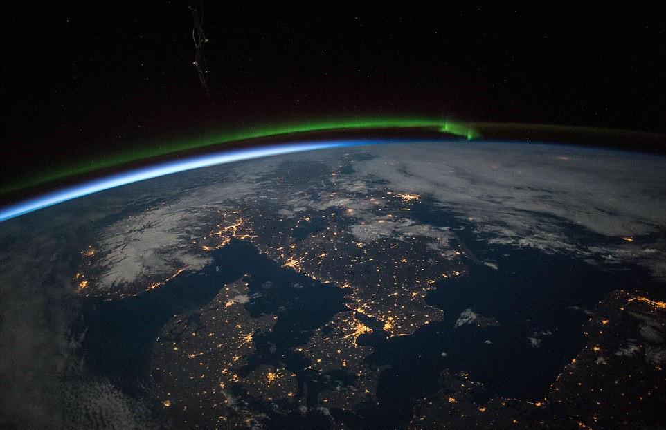 2015年从太空看地球最美照片