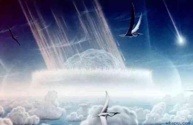 为什么小行星撞击地球能使恐龙灭绝?