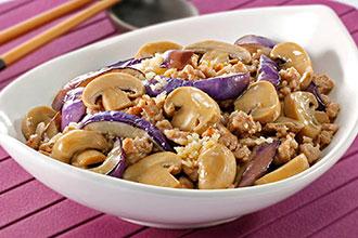 蘑菇真的不能和茄子或小米同吃