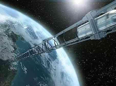 空间电梯、太空管道电车及巨型飞艇