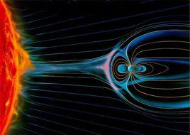 地磁暴引起的地电流