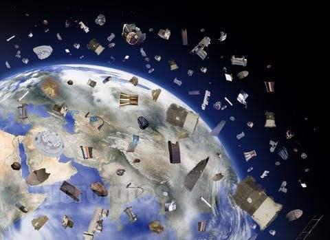 人类历史上第一次捕抓太空垃圾测试成功