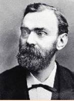 诺贝尔(Alfred Bernhard Nobel, 1833.10.21-1896.12.10),是瑞典化学家、工程师、发明家、军工装备制造商和炸药的发明者。诺贝尔奖创始人、炸弹之父。